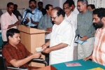 Distribution of accident claim to share holder by Sri.G.Sudhakaran Hon'ble Minister for Co-Operation