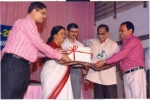 Special award from Pollution Control Board receiving from smt.P.K.Sreemathy Teacher,