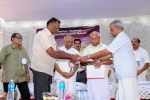 Share Campaign Inauguration by P.P Vsudevan (Director, EMCH)  receiving share for Rs 10 lakhs
